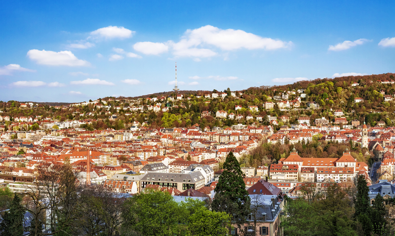 Stuttgart is the sixth largest city in Germany.