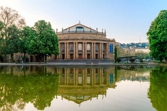 Stuttgart has a wide and rich cultural heritage, especially on opera.
