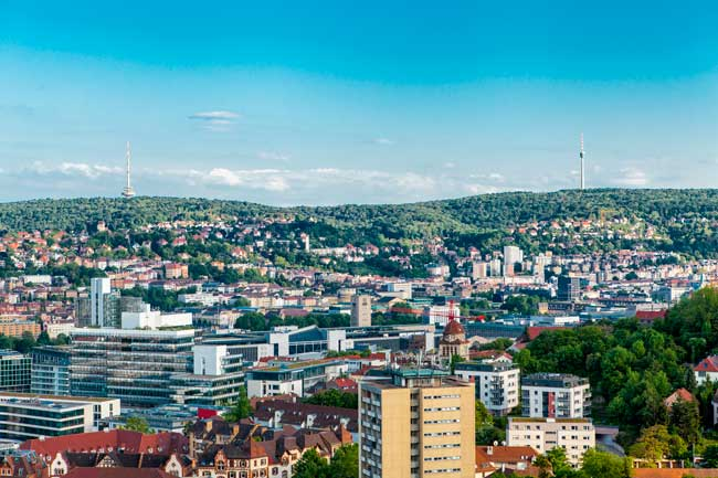 Stuttgart is the largest city of the state of Baden-Württemberg in Germany.